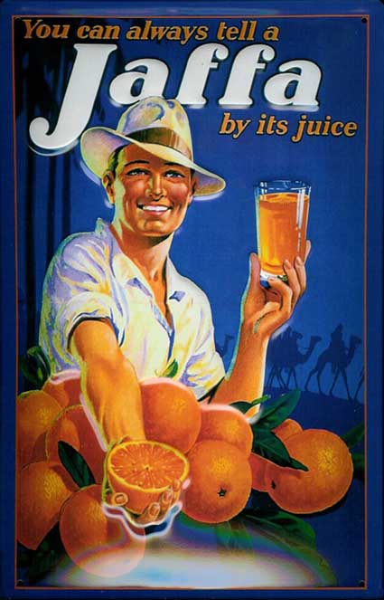 De band tussen Jaffa-sinaasappelen en het zionisme