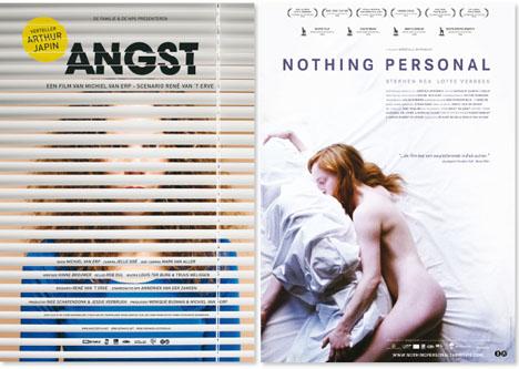 Angst en Nothing Personal: over het hoofd gezien voor de Film Poster Award.