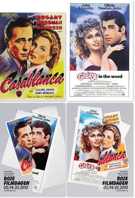 Roze Filmdagen. Starring: Humphrey Bogart en John Travolta