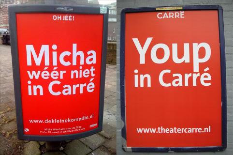 Micha Wertheim wéér niet in Carré