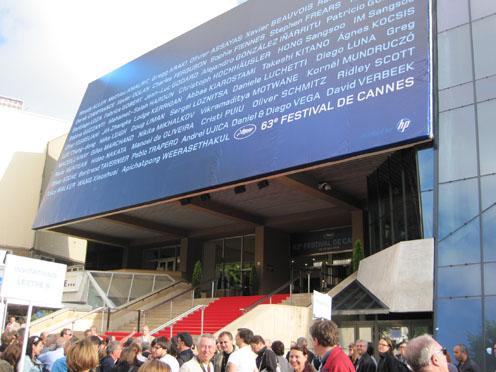 Cannes dag 1: woensdag 12 mei