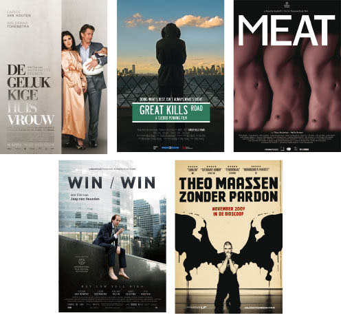Vijf nominaties 10e Cinema.nl Afficheprijs