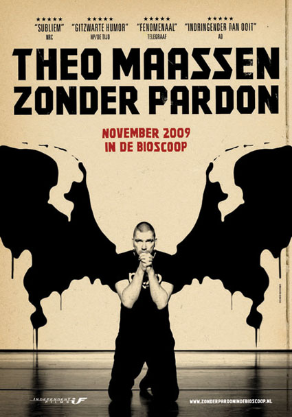 'Zonder pardon' van Marc Koppen en Theo Maassen winnaar Cinema.nl Afficheprijs 2010