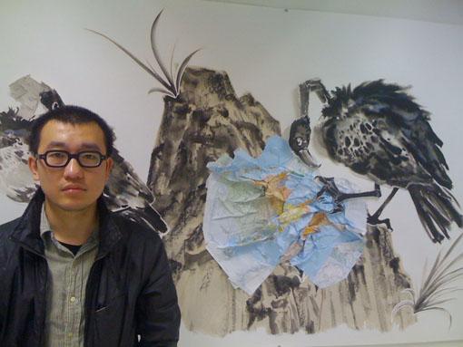 Zwart, dreigend en surreëel – Chinees Sun Xun is artist in residence op het HAFF