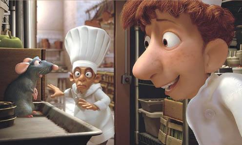 Een rat in de keuken