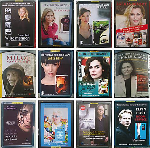 Gezien – Boeken van vrouwen en vrouwen op boeken