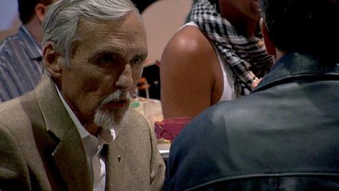 Dennis Hopper, Danny Trejo, Jack Nicholson en Jon Voigt in Belgisch kunstfilmpje