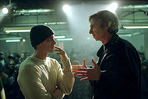 'Héé, daar heb je Eminem die het voor een homo opneemt!'