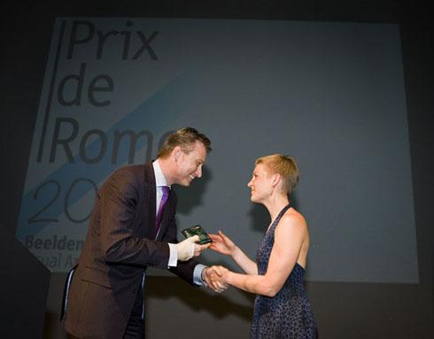 Prix de Rome voor Finse Pilvi Takala