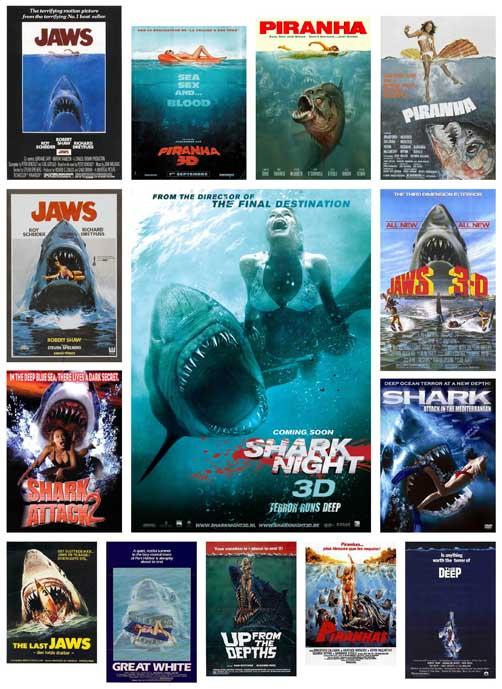 Gezien – bijtgrage haaien en blote meisjes