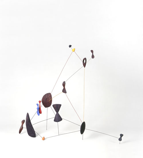 Calder vóór en na Mondriaan