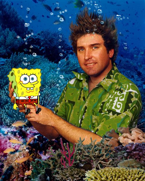 """SpongeBob-vissticks, dat leek me niet zo'n goed idee"""