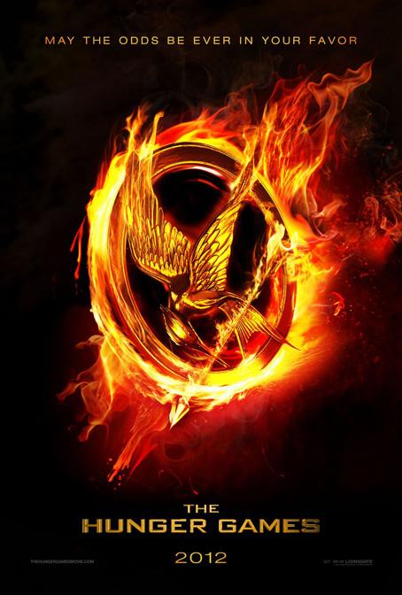 Affiche en mini-trailer ineen voor The Hunger Games