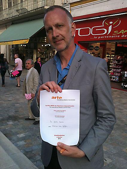 De kans dat Marco van Geffen niet in Cannes terechtkomt, wordt steeds kleiner