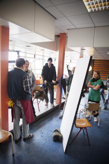 Actie! – Valentijnkade 131, 1095 KH Amsterdam. Woensdag 18 april 2012, 12.05 uur.