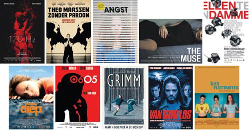 L'amour des moules, Doodslag, De Heineken Ontvoering, Kauwboy en Kyteman Now What? genomineerd voor 12e Cinema.nl Afficheprijs