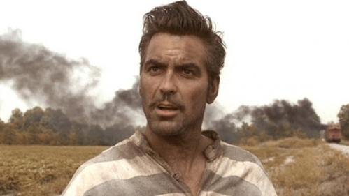 George Clooney vermomd als Clark Gable