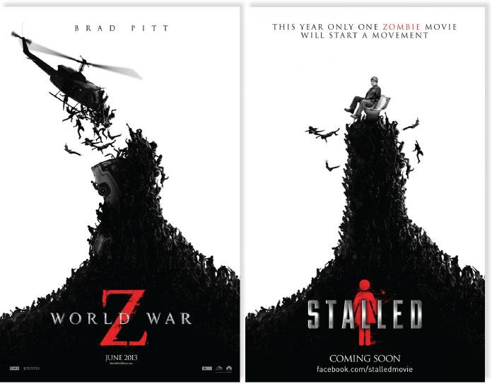 Zoek de 10 verschillen: zombies