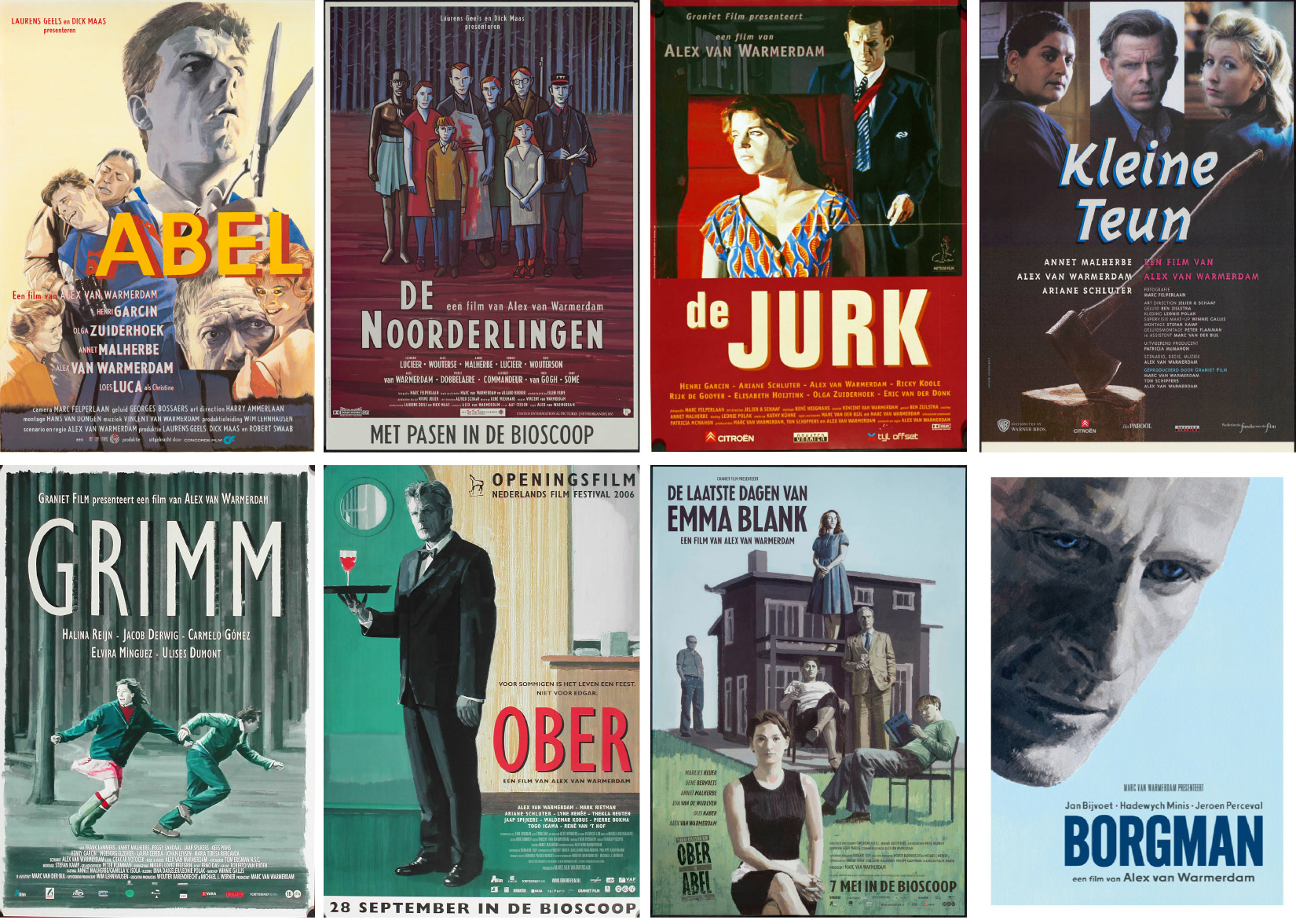 Alex van Warmerdam: filmmaker, schrijver, schilder