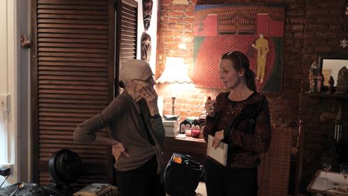Louise Greaves en Barbara Visser P1010313