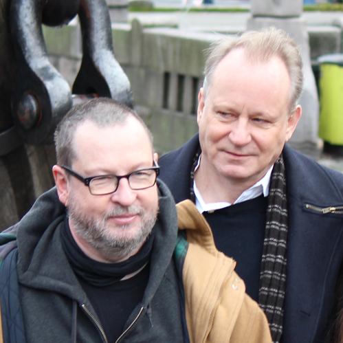 Von Trier en Skarsgard