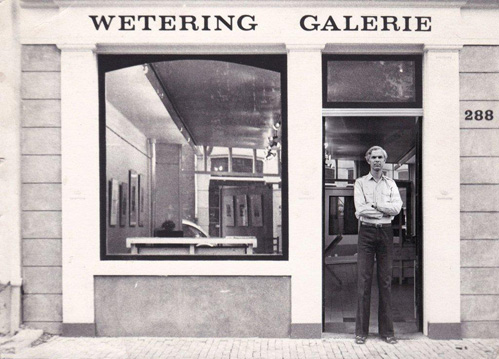 Wetering Galerie Michiel Hennus 1973