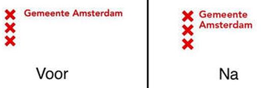 Nieuw logo voor Amsterdam