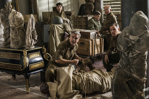 George Clooney's The Monuments Men is een onbeholpen kruising tussen Raiders of the Lost Ark en Daar komen de schutters