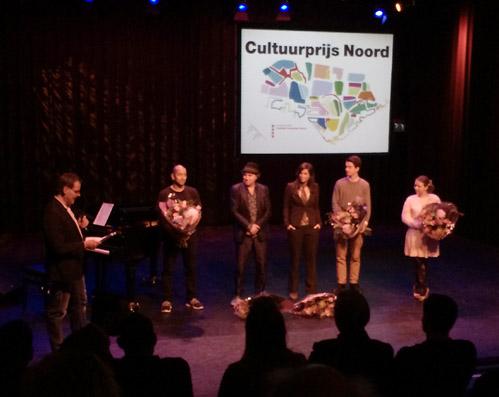 Jeroen Zijlstra wint eerste Cultuurprijs Noord
