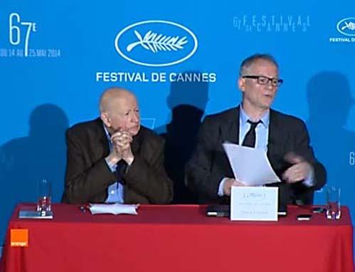 Godard, Dardennes en Cronenberg in hoofdprogramma Cannes 2014
