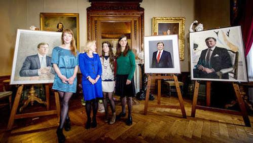 'Monumentale, hoogwaardige' staatsieportretten onthuld