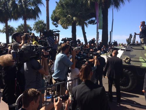 Cannes kan niet zonder reuring