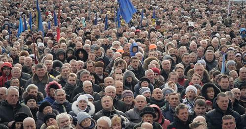 Het geluid op het Majdan-plein komt uit Nederland