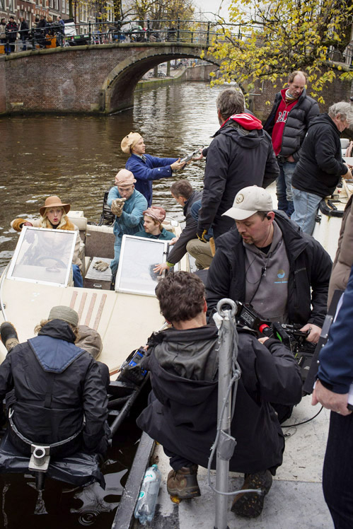 Hoek Reguliersgracht / Prinsengracht, 27 november 2013, 9.36 uur