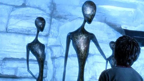 """Steven Spielberg naar aanleiding van Artificial Intelligence: """"Elk jaar creëren we iets dat twee jaar daarvoor nog ondenkbaar was. Zoals internet"""""""