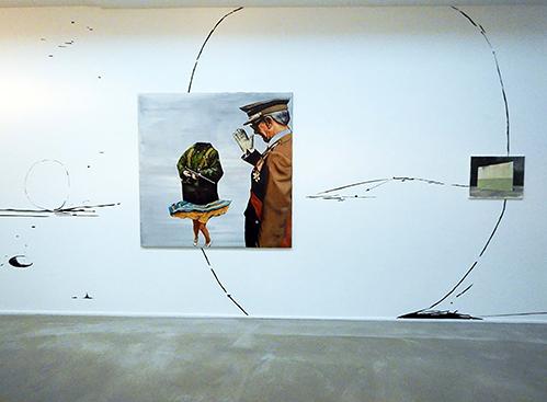Andrei Roiter in Galerie Akinci