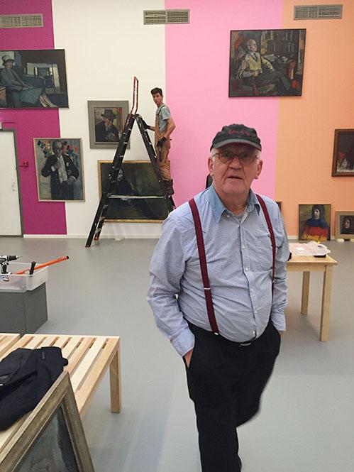 Wim van Krimpen maakt Kees Verwey-tentoonstelling bij de 175e verjaardag van Arti