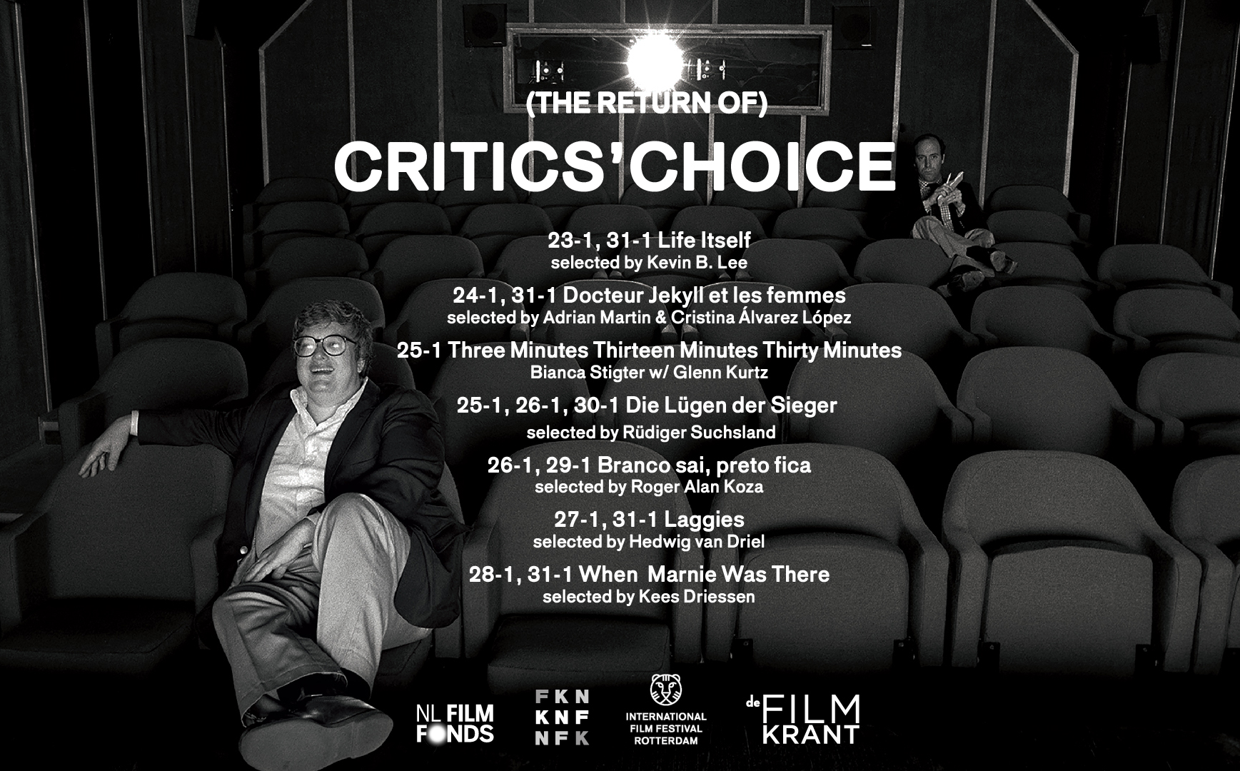 (The Return of the) Critics' Choice