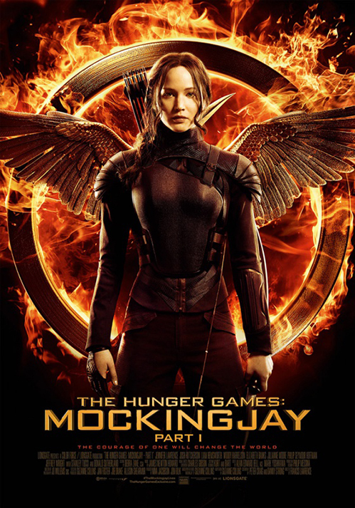 Mockingjay wint TV Krant Filmposter Award 2014