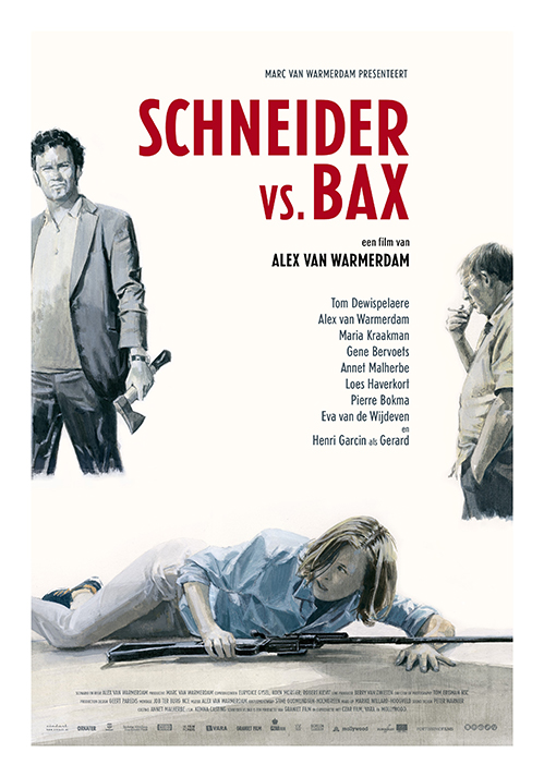 Gezien: Alex van Warmerdams Schneider vs. Bax-poster