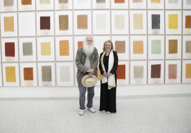 Antoinette de Stigter's Art Affair presenteert solo van Herman de Vries op Amsterdam Art Fair