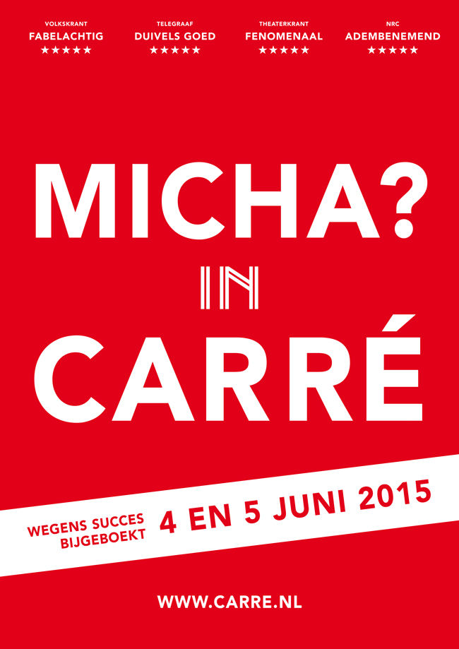Micha? in Carré!