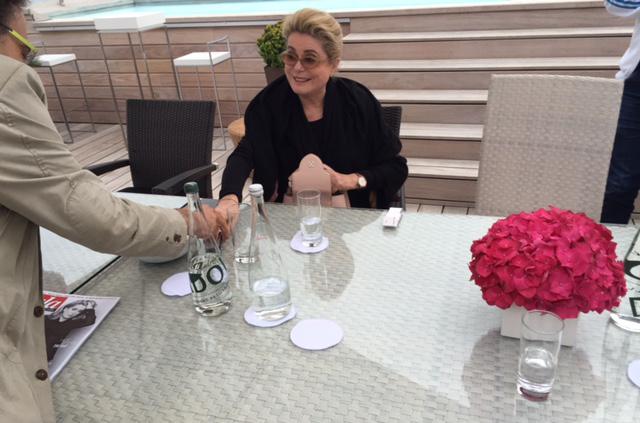"""Catherine Deneuve over La tête haute: """"Ik wil niet doen wat ik al kan en wat ik al weet"""""""