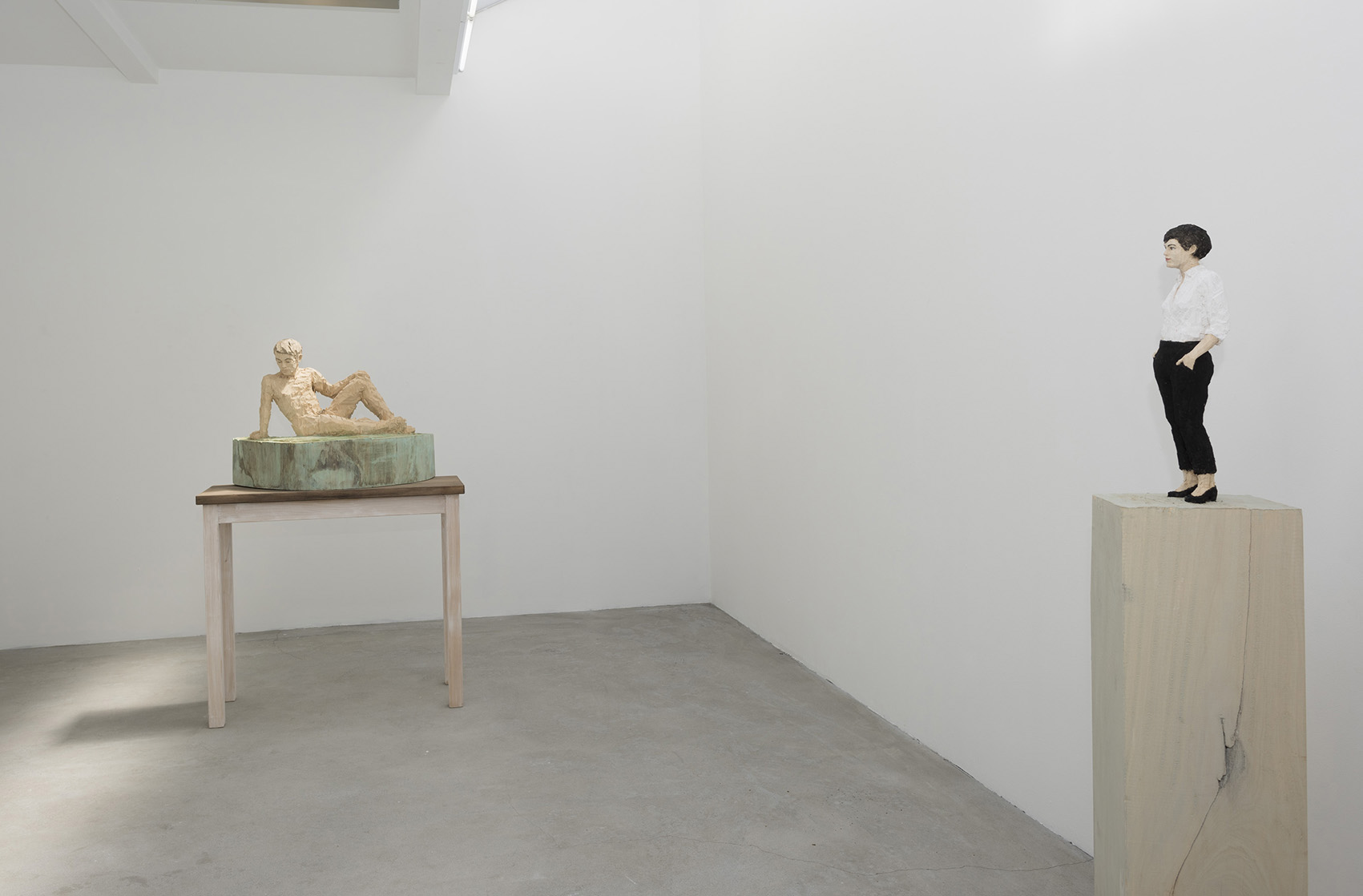 Stephan Balkenhol, installation view AKINCI, 2015