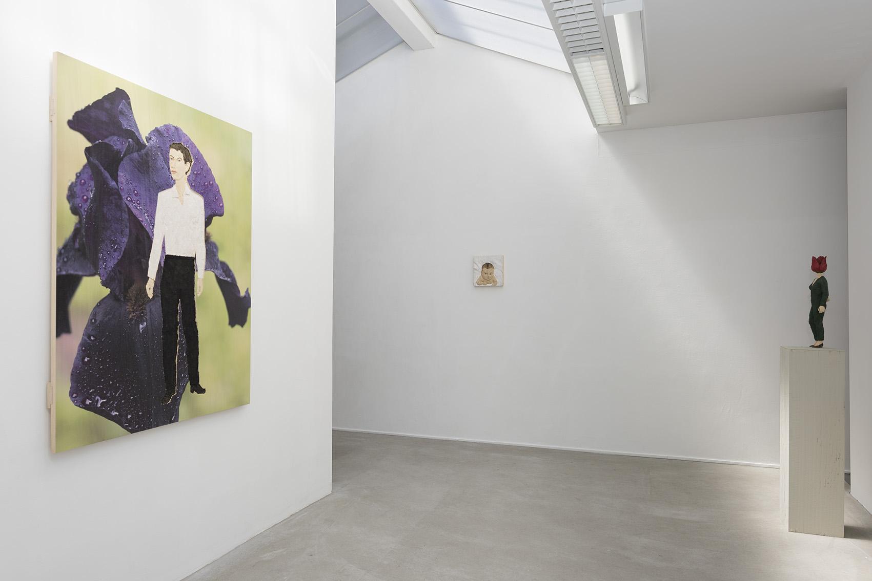 Stephan Balkenhol, installation view IIII,photo Peter Cox, AKINCI, 2015