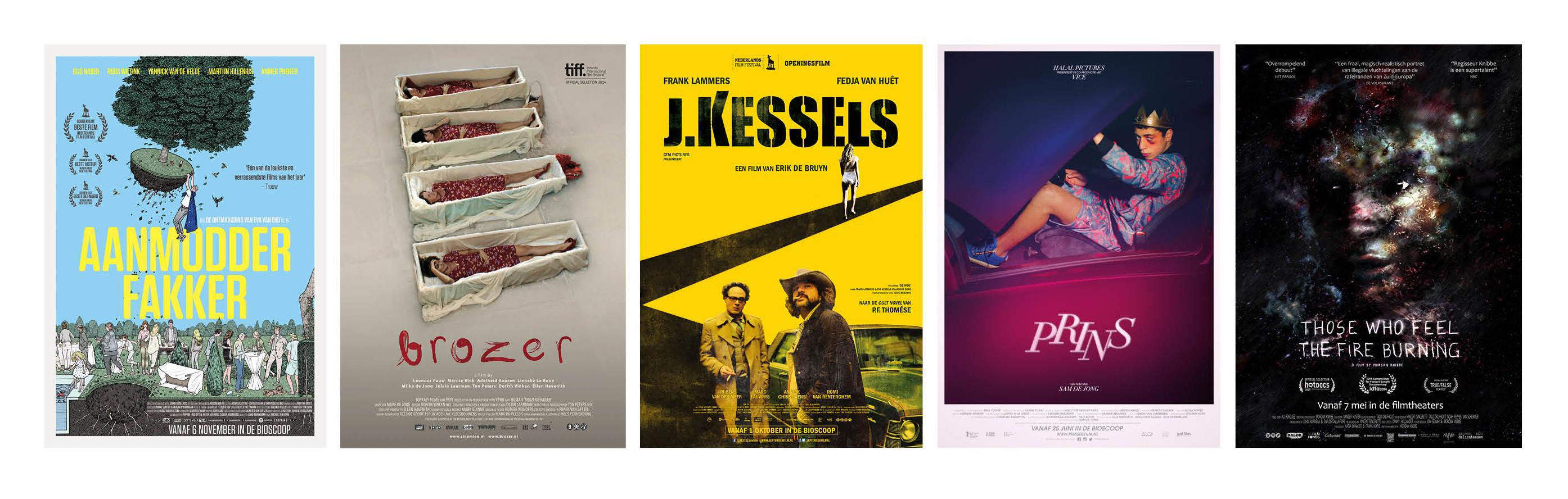 5 nominaties voor 15e VPRO Cinema Afficheprijs