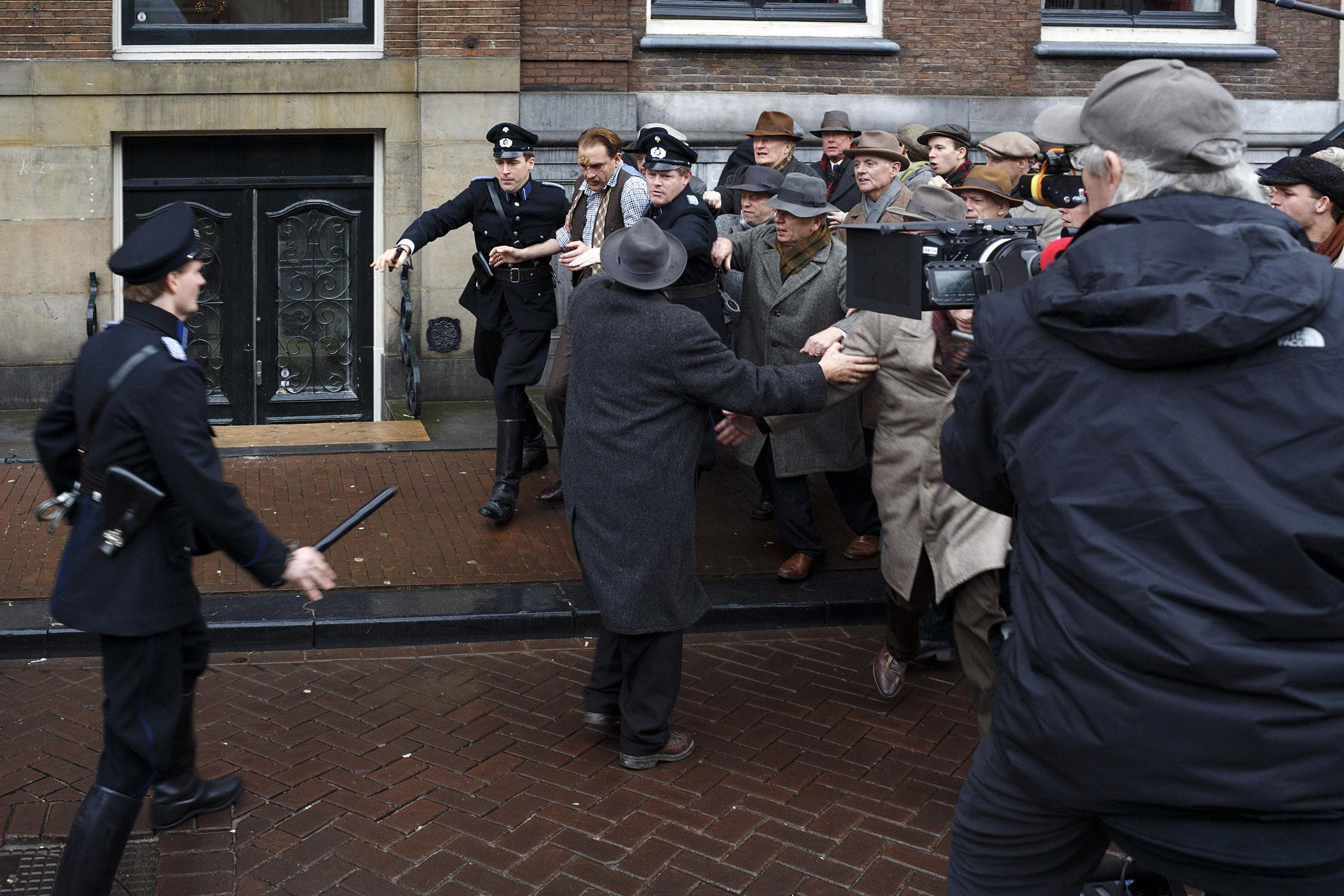 Actie! – Herengracht 518, 1017 CC Amsterdam. 16 december 2015, 14.37 uur.