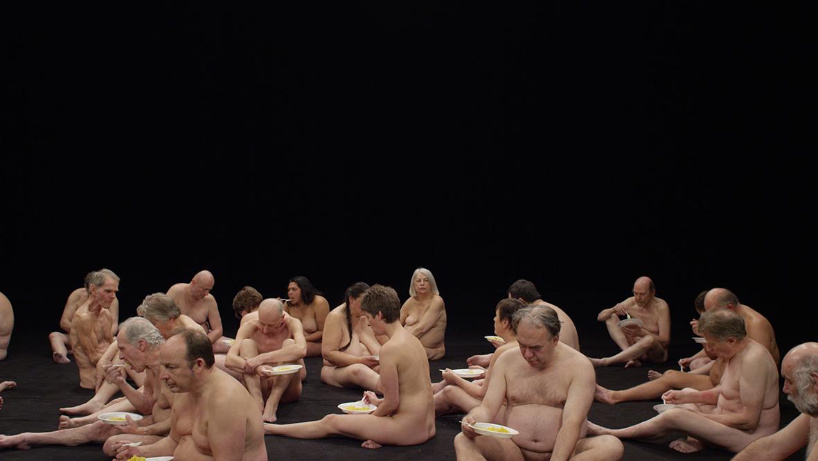 Guido van der Werve toont de naakte mens. Al copulerend.