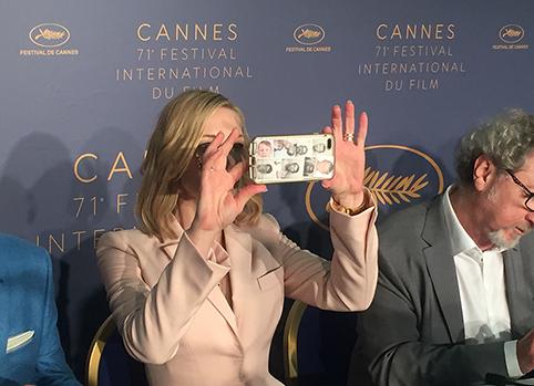 In Cannes gaat om de kwaliteit van de film, niet om gender, ras of politiek