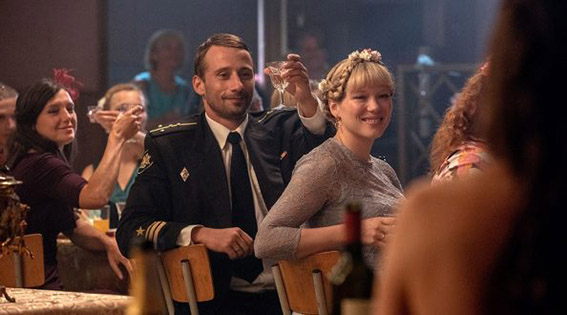 Matthias Schoenaerts speelt een van de bemanningsleden in Kursk, over de Russische kernonderzeeër die zonk in 2000. 'Het is een rampenfilm en een menselijke tragedie.'